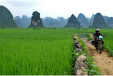 High plains of Cao Bang