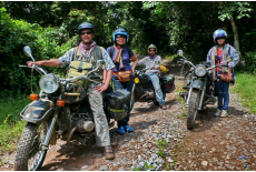Urals on the Ho Chi Minh Trail