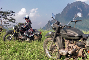 Urals in the Lao mountains