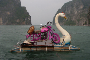 Top Gear swan boat