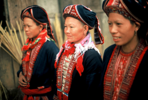 Dao women in their finery