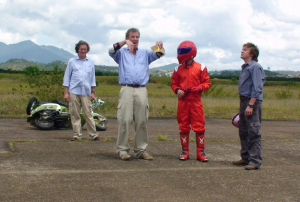 Stig and the crew