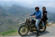 The Sapa valley