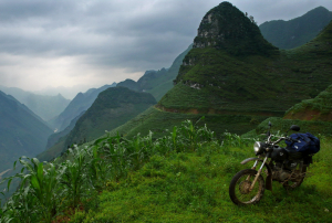 Ride to the roof of Vietnam