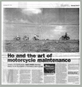 Ho and the art of motorcycle maintenance
