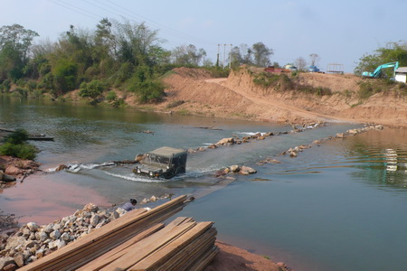 Ho Chi Minh Trail river crossing
