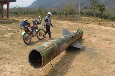 Ho Chi Minh Trail SAAM missile