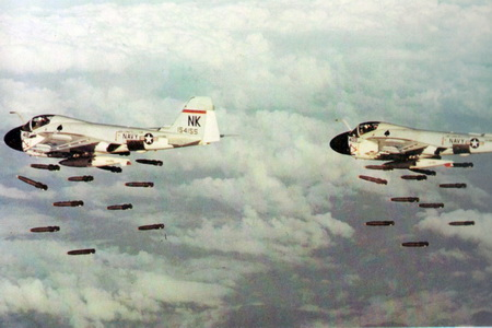 Ho Chi Minh Trail bombs