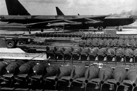 Ho Chi Minh Trail bombs B-52